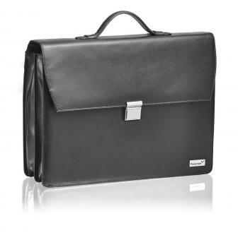 """Packenger Bjorn Aktentasche für Laptop 17"""" Schwarz"""