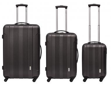 Packenger Torreto Koffer 3er-Set M, L + XL Anthrazit