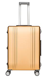 Packenger Aluminium Luxury Traveller Alu Reisekoffer 33L Champagne