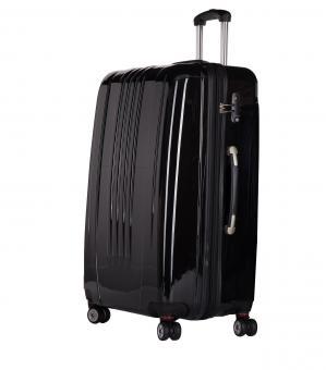 Packenger Stone Premium Koffer L Schwarz