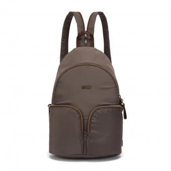 pacsafe Stylesafe Sling Rucksack mit RFID-Schutz Mocha