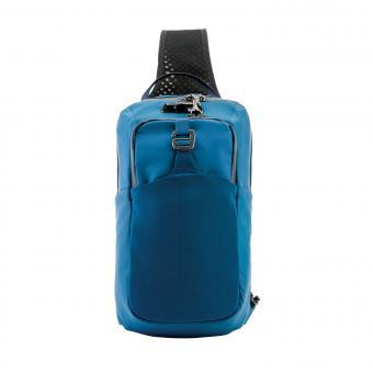 pacsafe Venturesafe X Sling Pack mit RFID-Schutz Blue Steel