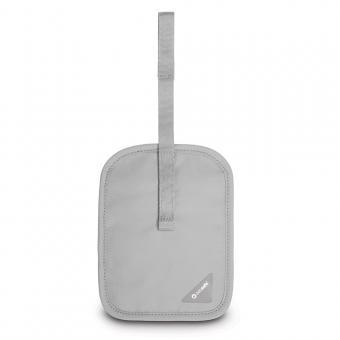 pacsafe Coversafe V60 RFID-blockierende geheime Gürtel-Geldtasche Neutral Grey