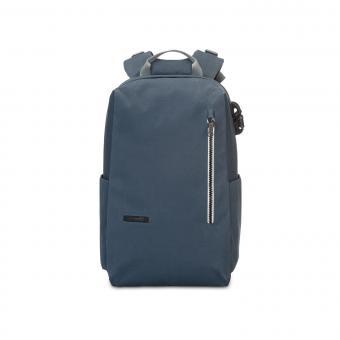 "pacsafe Intasafe Backpack Anti-theft 15"" Laptop Rucksack Navy Blue"
