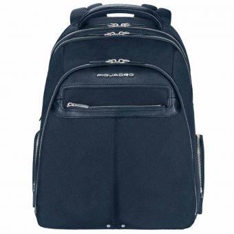 "Piquadro Link Laptop Backpack 15"" Blau"