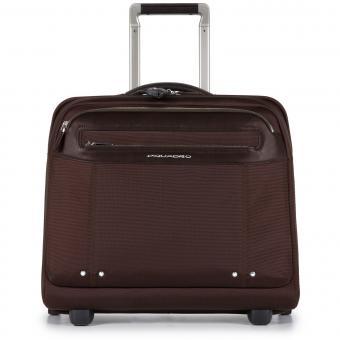 Piquadro Link Laptop-Trolley mit iPad®Air/Air2-Fach dunkelbraun