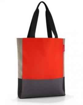 Reisenthel Shopping patchworkbag mandarin