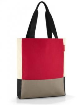 Reisenthel Shopping patchworkbag red