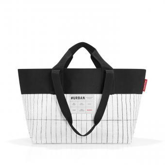 Reisenthel #urban bag New York Tasche black & white