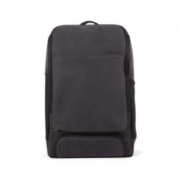 "Salzen Backpack Alpha Leather 15,6"" Charcoal Black"