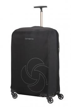 Samsonite Global Travel Accessories faltbare Kofferhülle L/M Schwarz
