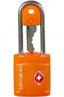 Samsonite Global Travel Accessories TSA-Hängeschloss mit schlüssel Orange