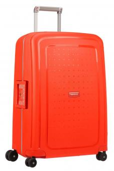 Samsonite S'Cure *Limited Edition* Trolley mit 4 Rollen 69cm Fluo Red Capri