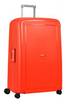 Samsonite S'Cure *Limited Edition* Trolley mit 4 Rollen 81cm Fluo Red Capri