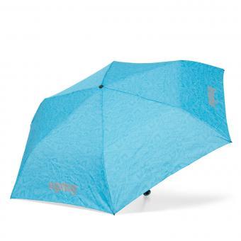 ergobag Schulzubehör Regenschirm Hula HoopBär/Hawaii Türkis