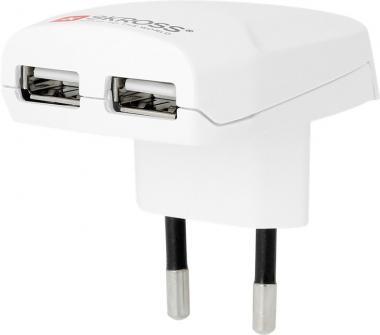 SKROSS Euro USB Charger Weiß