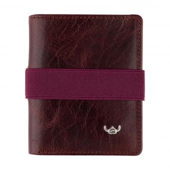 Golden Head slim6 Wallet Monza bordeaux