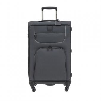 Stratic Go First - Stop Later Trolley M 4R 69cm, erweiterbar black