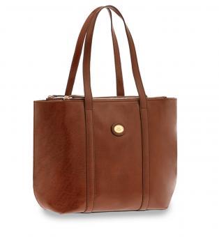 The Bridge Story Shopping Bag Braun/Gold
