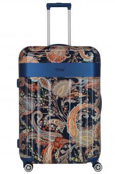 Titan Spotlight Paisley Trolley L *Limited Edition* Paisley blue