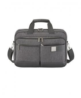 Titan Power Pack Laptop Bag S Exp. Mixed Grey