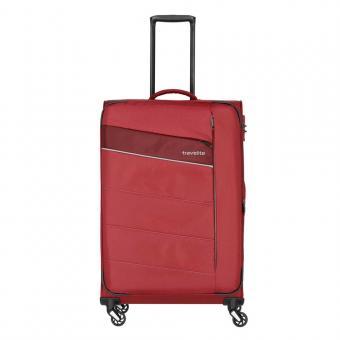 Travelite Kite Trolley L 4w 75 cm, erweiterbar Rot