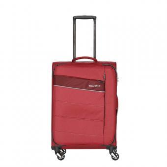 Travelite Kite Trolley M 4w 64 cm, erweiterbar Rot