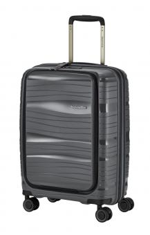 Travelite Motion Trolley S 4 Rollen, mit Vortasche Anthrazit