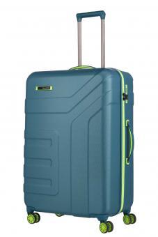 Travelite Vector 4w Trolley L Petrol/Limone