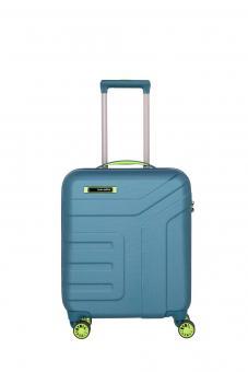 Travelite Vector 4w Trolley S Petrol/Limone