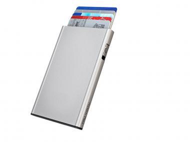 Tru Virtu Click & Slide Kreditkartenetui Silk silver arrow