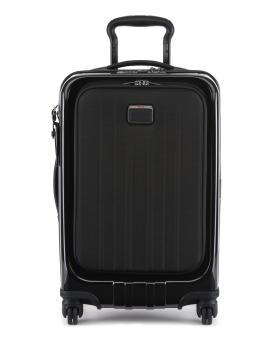 Tumi V4 Koffer auf 4 Rollen 56cm, schmal mit Außenfach Schwarz
