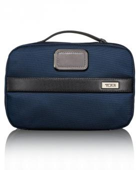 tumi alpha 2 unterteilte kulturtasche navy black jetzt auf kaufen. Black Bedroom Furniture Sets. Home Design Ideas