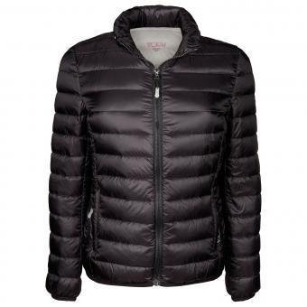 Tumi PAX Outerwear 2 in 1 Damen Clairmont packbare Reisejacke und Nackenhörnchen Black/M