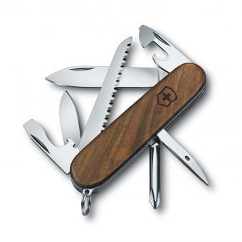 Victorinox Mittleres Taschenmesser Hiker Wood, 91 mm Nussbaumholz