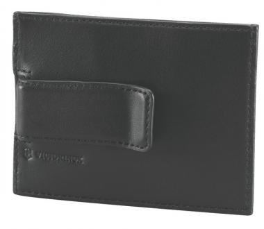 Victorinox Altius 3.0 Rome Geldklammer aus Leder, Schwarz