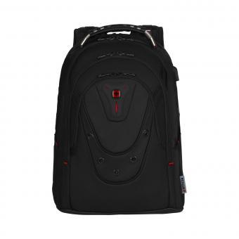 Wenger Ibex Ballistic Deluxe Laptop-Rucksack 17 Zoll schwarz