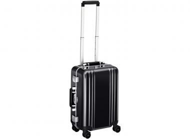 Zero Halliburton Classic Framed Carry on 4 Wheel Spinner Travel Case black