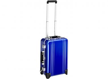 Zero Halliburton Classic Framed Carry on 2 Wheel Travel Case blue