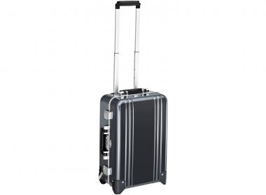 Zero Halliburton Classic Framed Carry on 2 Wheel Travel Case gunmetal