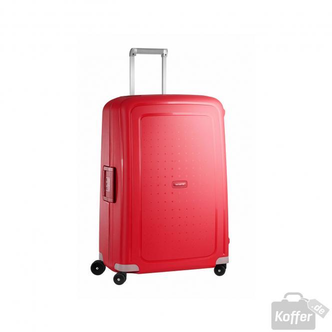 samsonite s 39 cure spinner 75 28 crimson red jetzt auf kaufen. Black Bedroom Furniture Sets. Home Design Ideas