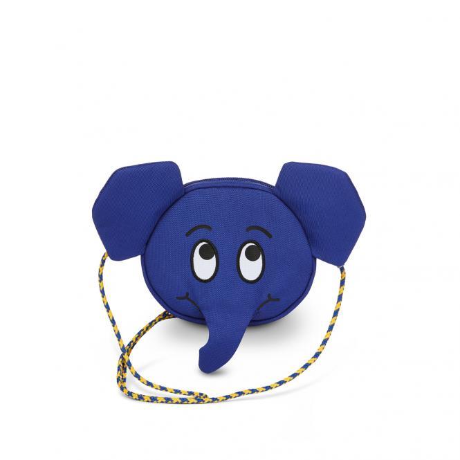 Kinderportemonnaie Die Maus Elefant Blau