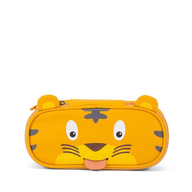 Tiger Stiftemäppchen Gelb