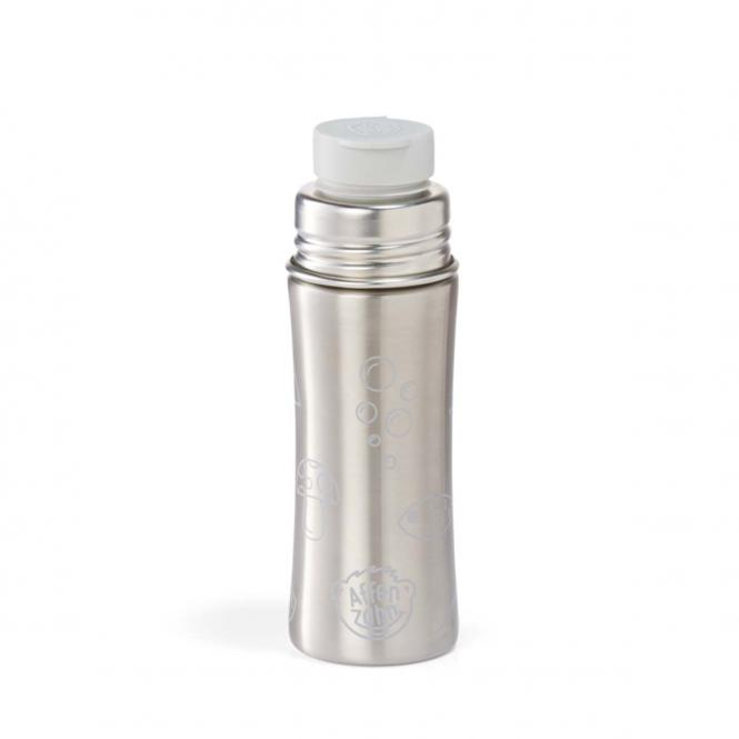 Edelstahl Trinkflasche Koala Silber/Grau