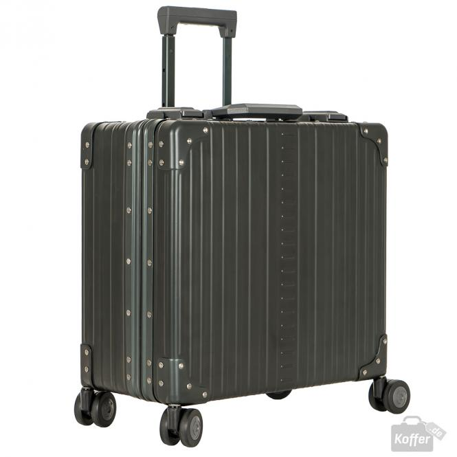 "Business Case Deluxe 4-Rollen 17"" Dunkelgrün"