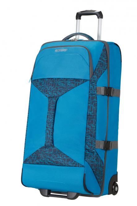 Reisetasche mit 2 Rollen 80cm Bluestar Print