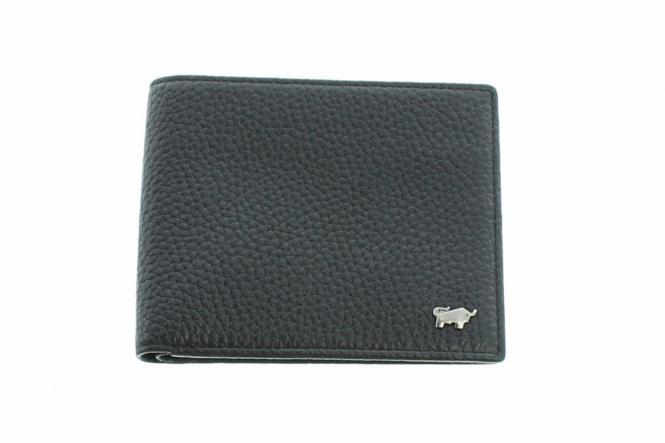 Geldbörse ohne Münzfach 60103 schwarz