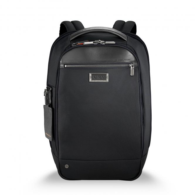 "Medium Slim Backpack 15.6"" black"