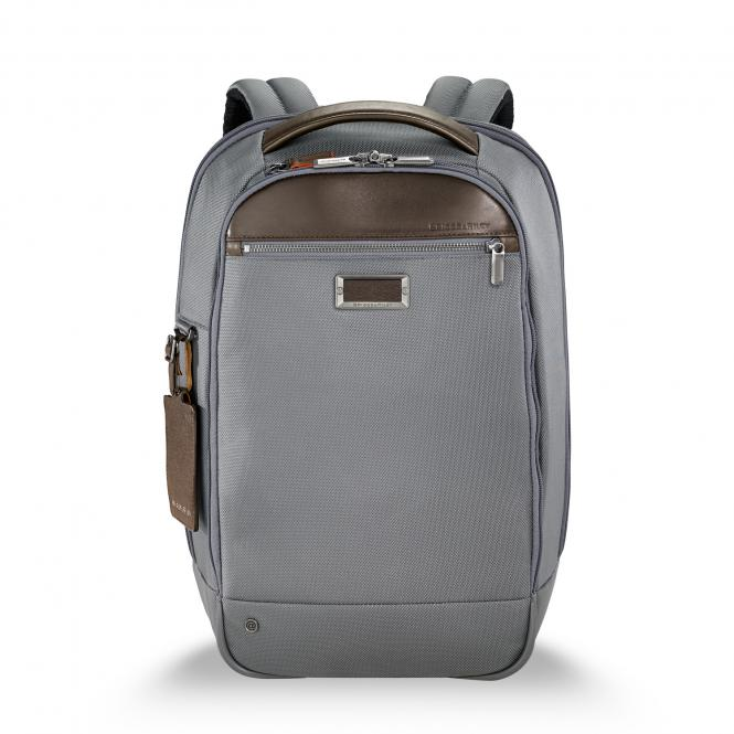 "Medium Slim Backpack 15.6"" grey"