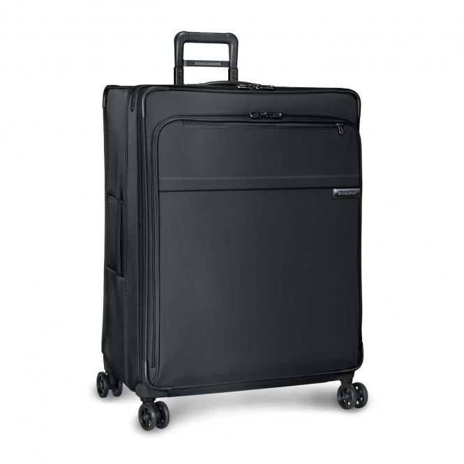 Extra Large Expandable 4-Rollen-Trolley Black